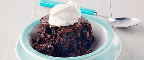 Gâteau doublement chocolaté à la mijoteuse