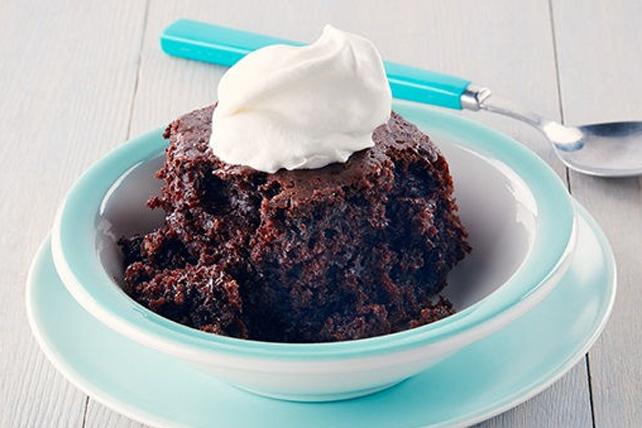 Gâteau doublement chocolaté à la mijoteuse Image 1