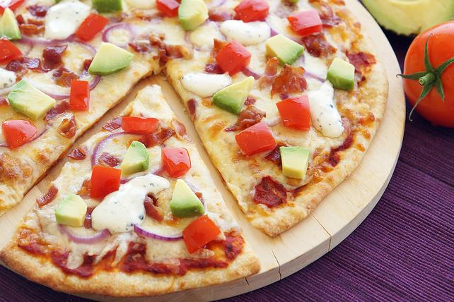 California Bacon-Ranch Pizza Image 1