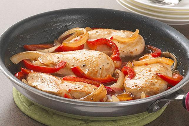 Pollo a la sartén estilo italiano Image 1
