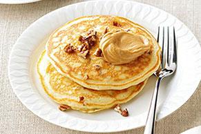 PB & Banana Pancakes