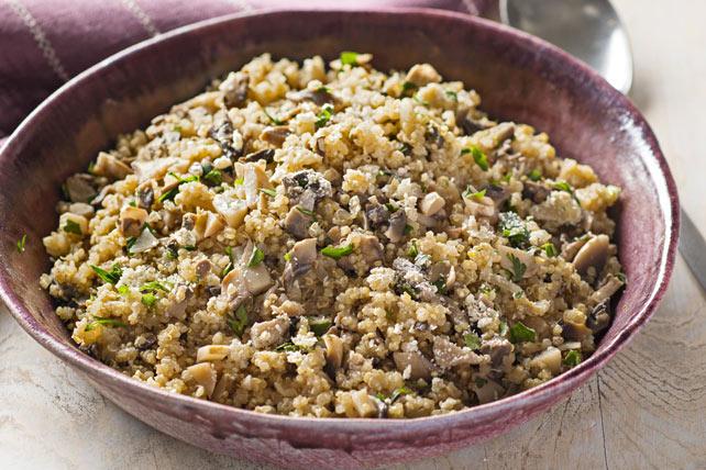 Pilaf au quinoa et aux champignons Image 1