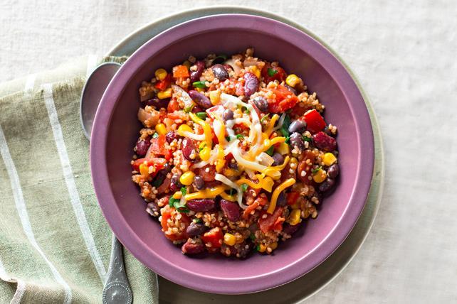 Chili au quinoa et au chipotle Image 1