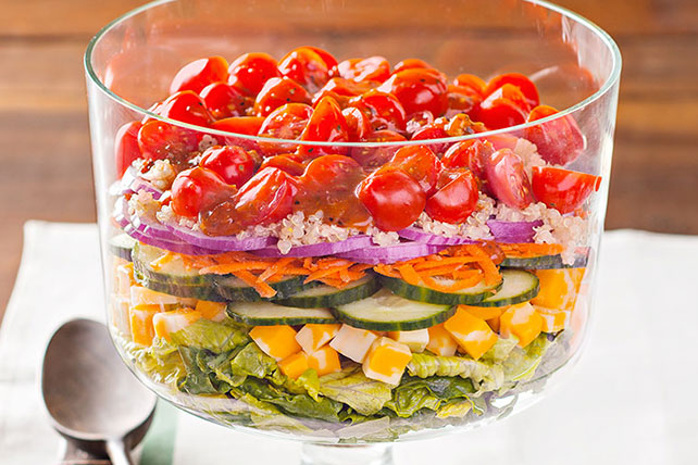 Layered Quinoa Salad Image 1