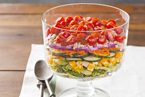Layered Quinoa Salad