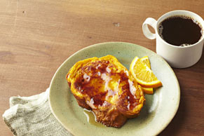 Make-Ahead Pumpkin French Toast