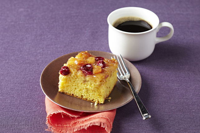 Caramelized Apple-Cranberry Cake Image 1