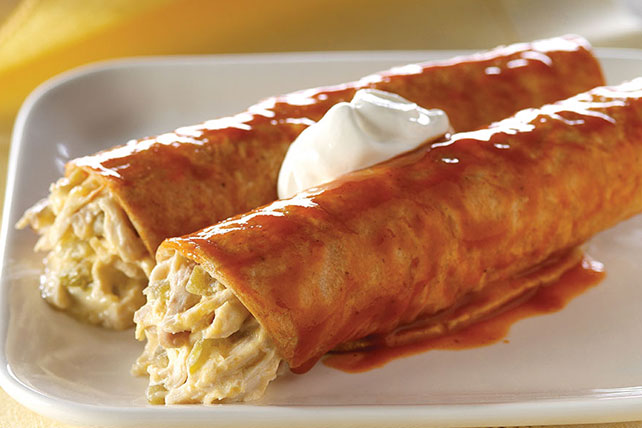 Chicken & Green Chili Enchiladas