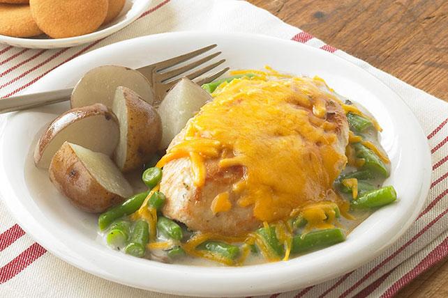 30-Minute Creamy Mushroom & Chicken Skillet Image 1