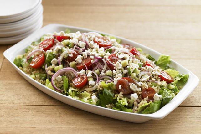 Mediterranean Quinoa Salad Image 1
