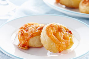Bacon-Cheese Appetizer Coins