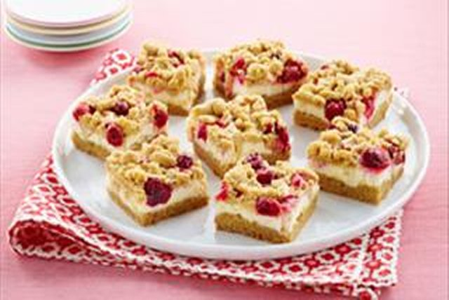 Apple-Cranberry Crumb Bars Image 1