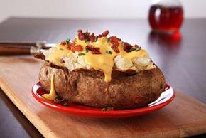 VELVEETA Jalapeno Baked Potatoes