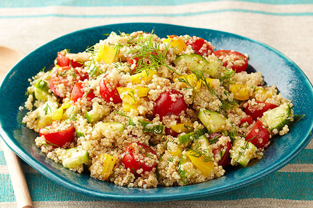 Greek Quinoa Salad Recipe - Kraft Recipes