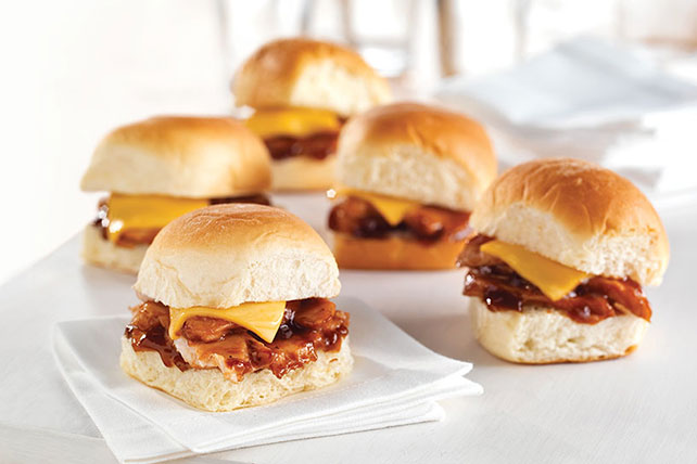 Sweet & Tangy BBQ Pork Sliders