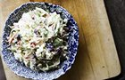 Better-for-you Cranberry Coleslaw