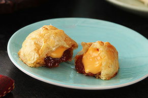 Cheesy Guava Empanadas