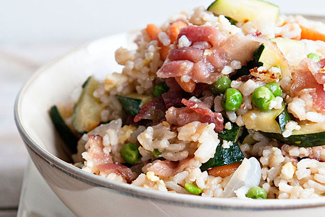 Bacon Fried Rice Image 1