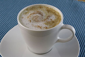 Cinnamon-Spiced Latte
