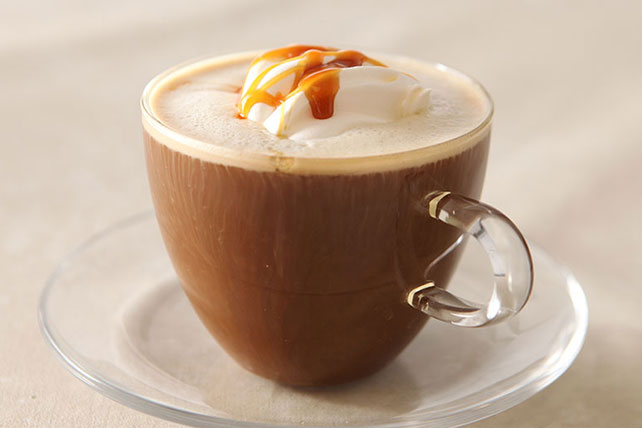 Barista-Style Caramel Coffee Image 1