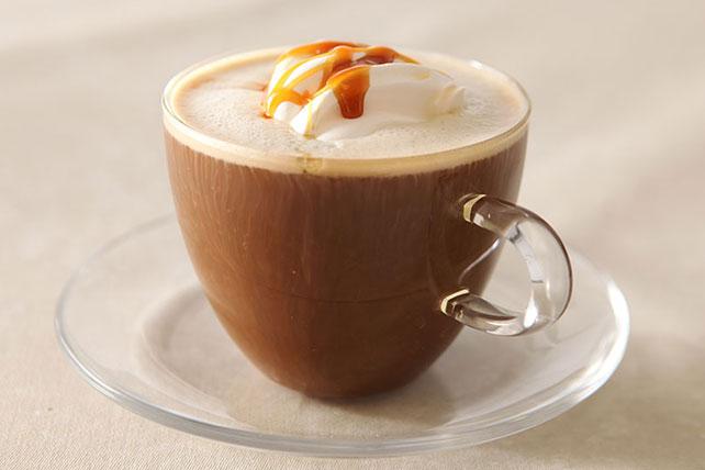 Café au caramel de barista Image 1