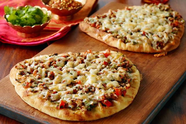 Naan Bruschetta Pizza Image 1