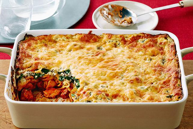 Chicken Florentine Unstuffed Pasta Shells Image 1