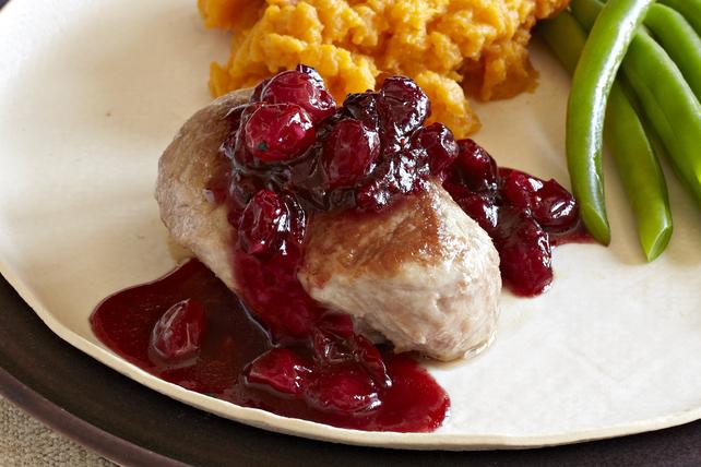 Cranberry-Balsamic Pork Skillet Image 1