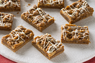 Gingerbread-Caramel Bars