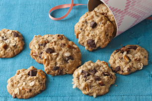 Chocolate Chunk-Everything Cookies