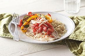 Bruschetta Fish Dinner