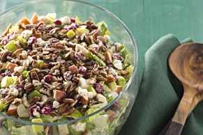 Festive Apple-Cranberry Salad