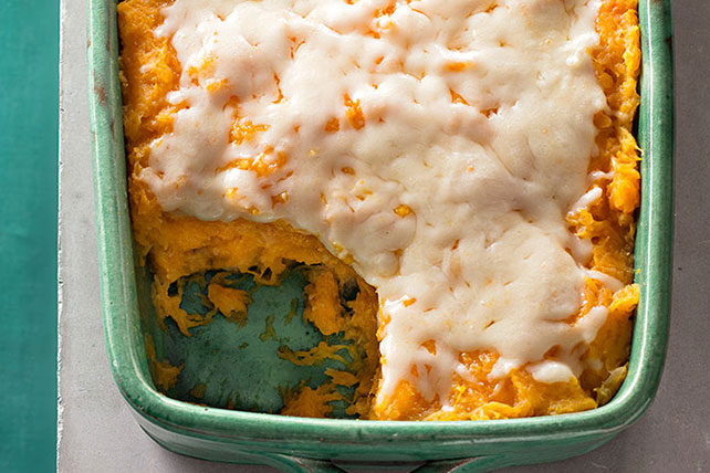 Roasted Garlic Mashed Butternut Squash