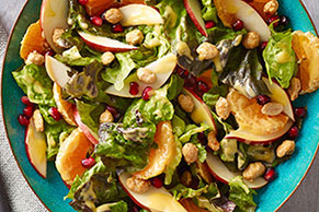 Pomegranate Pear Salad
