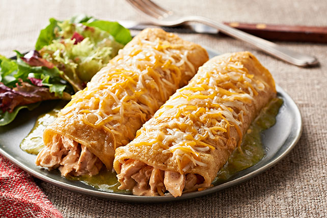 Enchiladas verdes de pollo_image