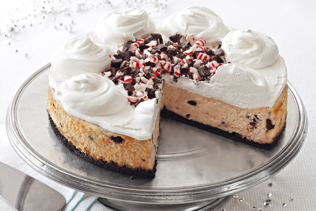 Peppermint Bark Cheesecake Image 1
