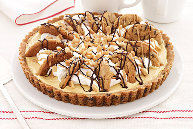 Easy Peanut Butter-Chocolate Chip Pie Image 1