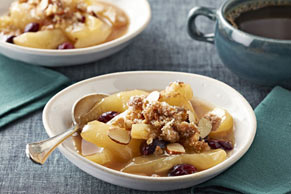 Slow-Cooker Pear & Cranberry Crisp