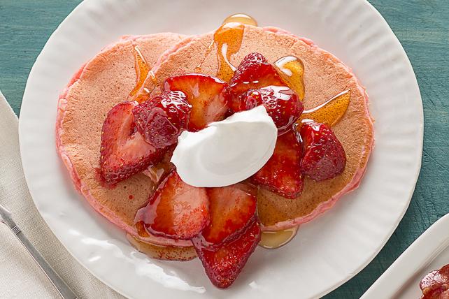 Crêpes aux fraises Image 1