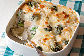 Chicken Broccoli Rice Bake