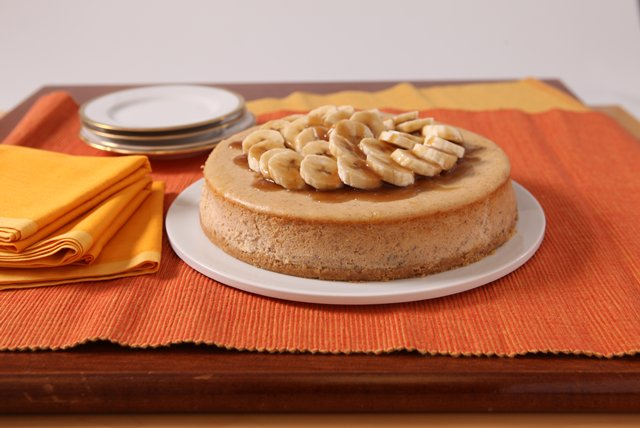 Bananas Foster Cheesecake Image 1