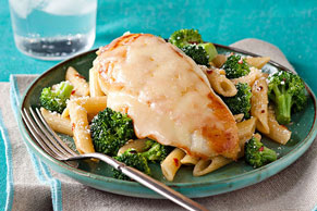 Tuscan Italian Chicken with Penne & Broccoli