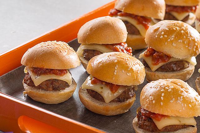 Minihamburguesas con sazón para tacos Image 1