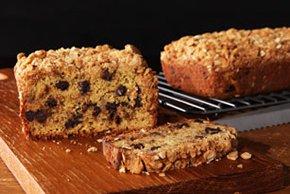 Peanut Butter Streusel-Banana Bread