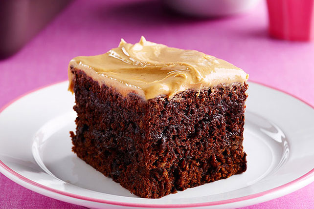 Double Chocolate-Peanut Butter Snacking Cake Image 1