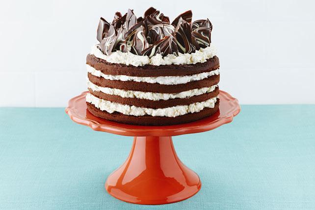 Gâteau étagé aux trois chocolats Image 1