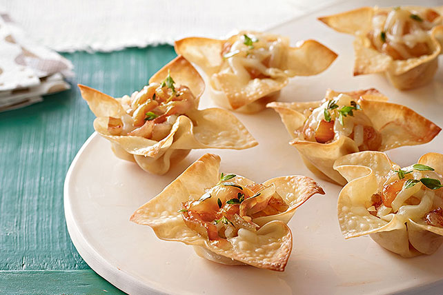 Savory Cheese & Onion Appetizer Cups Image 1