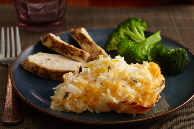 Quick & Cheesy Hash Browned Potato Casserole Image 1