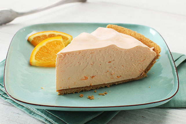 COOL 'N EASY Orange Refrigerator Pie Image 1