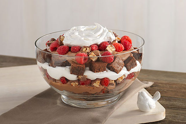 Chocolate-Raspberry Trifle Image 1